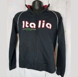 Men's Vtg ROMA ATLETICA Italia Zip-up Sweatshirt
